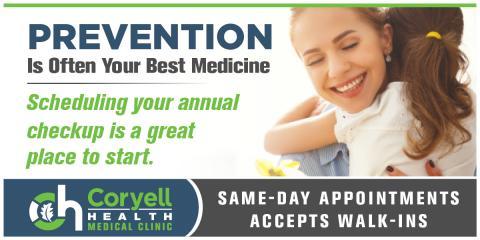 Prevention Is Often The Best Medicine, Gatesville, Texas