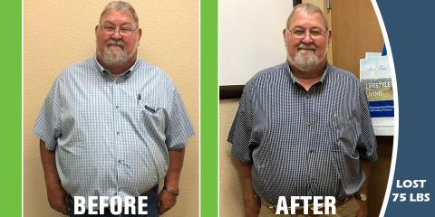 75 lbs. Later- Easy Transition into a New and Healthier Lifestyle! , Gatesville, Texas