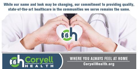 Coryell Memorial Becomes Coryell Health, Gatesville, Texas