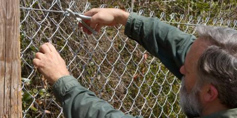 How to Remove a Chain Link Fence, Columbia, Missouri