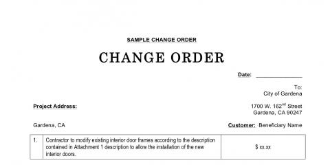 Corporate Moves....Beware the Change Order, New York, New York