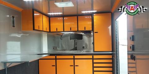 Options, Options, Options! Check Out This inTech Race Trailer That Is Loaded With All The Extras!, Cuba, Missouri