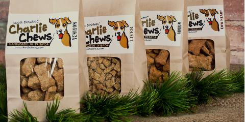 Charlie Chews Organic Dog Treats Actually Taste Better, Manhattan, New York
