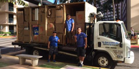 We're Celebrating Our Movers With 5+ Years at M. Dyer & Sons, Ewa, Hawaii
