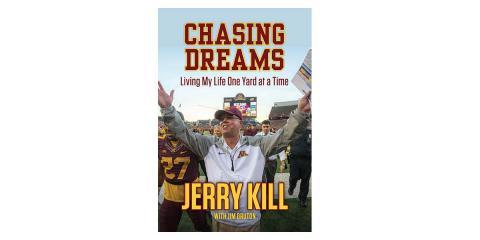 Coach Kill's New Book - Chasing Dreams, Carbondale, Illinois