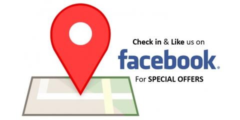 Fb check in deals