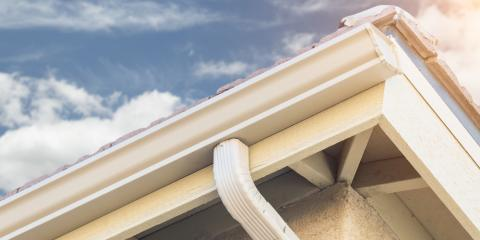 Maximum Roofing Reveals 5 Advantages of Seamless Gutters, Chesaning, Michigan