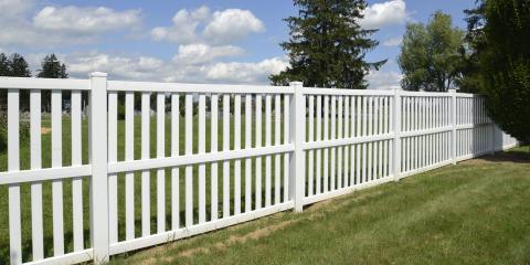 Top 4 Benefits of Vinyl Fences, Chesterfield, Missouri