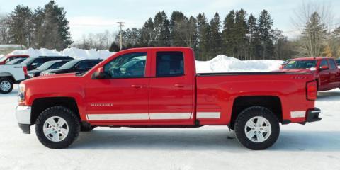 Certified Pre Owned 2018 Chevy Silverado 1500 LT $28,995  , Barron, Wisconsin