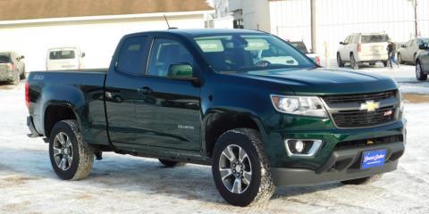 Certified Pre Owned 2015 Chevrolet Colorado Z71 $23,995, Barron, Wisconsin