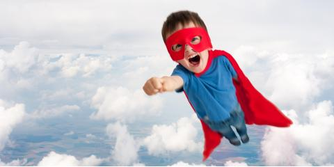 August Is Superhero Month at A Rising Star Childcare Center, Cortlandt, New York