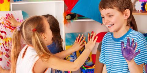 4 Ways Finger Painting Helps Child Development, St. Charles, Missouri