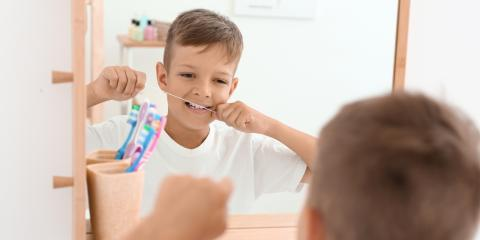 Why Do Dentists Want Kids to Floss?, China Grove, North Carolina
