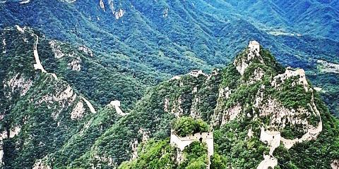 China - Great Wall at Jiankou, Brooklyn, New York