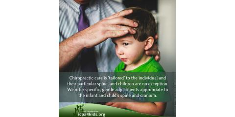 Chiropractic is Available for Children, Hay Creek, Minnesota