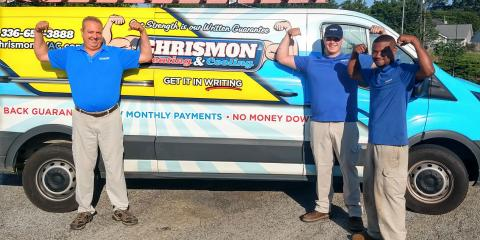 Chrismon Heating & Cooling, HVAC Services, Services, Greensboro, North Carolina