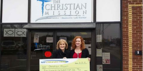 Thank Your for Giving Back with MI-Connection, Mooresville, North Carolina