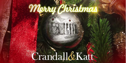 Merry Christmas from Crandall & Katt, Attorneys at Law, Roanoke, Virginia