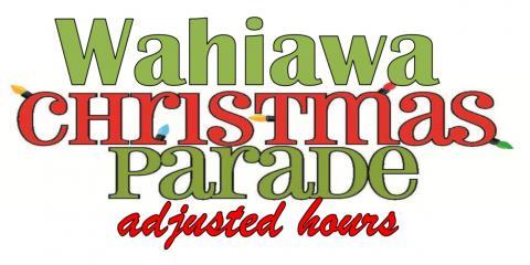Adjusted Hours for Friday, 12/1/2017, Wahiawa, Hawaii