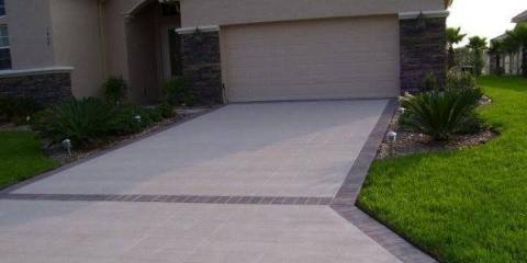 4 Reasons To Add A Stamped Concrete Border To Your Driveway The