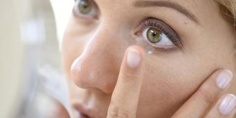 Irritated Eyes? What to Do About Your Contact Lenses, Symmes, Ohio