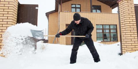 How to Safely De-Ice Your Decorative Concrete Driveway, Norwood, Ohio