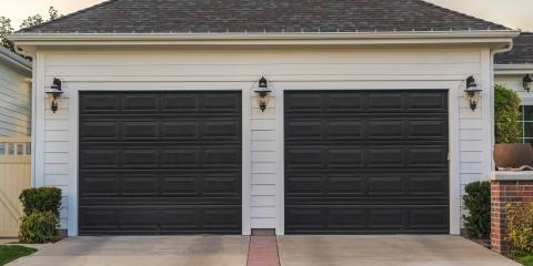 Choosing Between Single & Double Doors for a Two-Car Garage, Cincinnati, Ohio