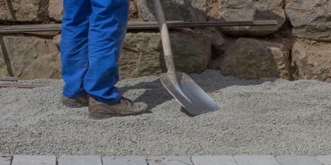 How to Select the Best Drainage Gravel, Cincinnati, Ohio