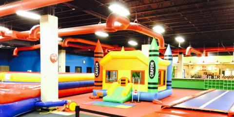 Kids Jump For Joy At Bee Active Adventure Zones Birthday Parties April 13 2015