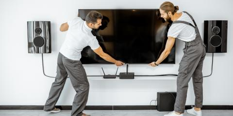 Need to Move a Mounted TV? Why You Should Hire Professionals, Cincinnati, Ohio