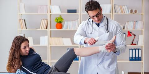 A Guide to Treating Each Grade of Ankle Sprains, Green, Ohio