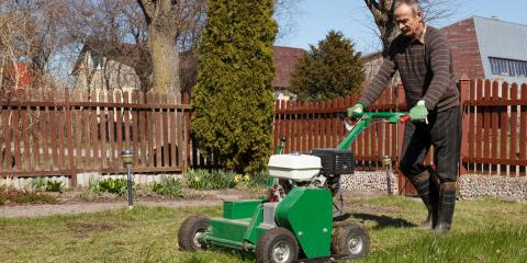 4 Benefits of Lawn Aeration, Evendale, Ohio