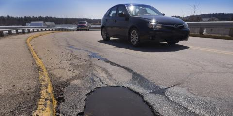 How Do Potholes Form?, Colerain, Ohio