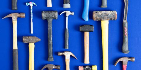 4 Common Types of Hammers & Their Uses, Cincinnati, Ohio