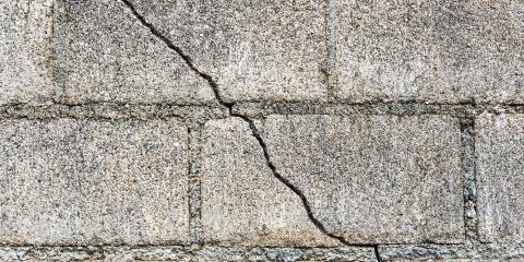 Common Types of Basement Wall Cracks & What They Mean, Ross, Ohio