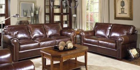 A Cincinnati Furniture Dealer Explains 3 Types of Leather Sofas, Amelia, Ohio
