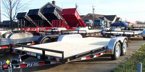 How to Load a Vehicle Onto a Car Hauler Trailer, West Chester, Ohio