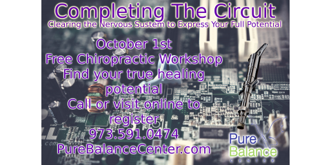 Chiropractic Workshop: Completing The Circuit, Manhattan, New York