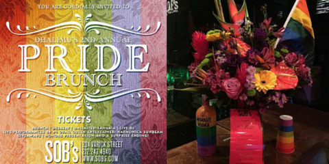 CitiFloral Proudly Honors Pride with SOBs, Manhattan, New York