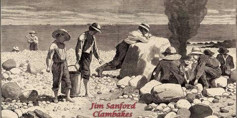 Host a Summer Party with Authentic Clambakes by Jim Sanford, Manhattan, New York