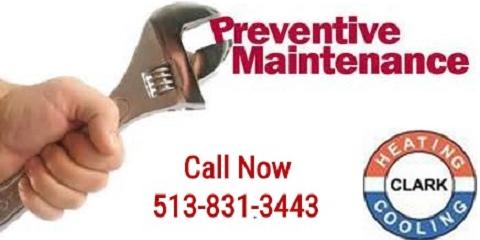 Avoid Costly Heating and Cooling Repairs With Clark Heating & Cooling's Protection Program, Milford, Ohio