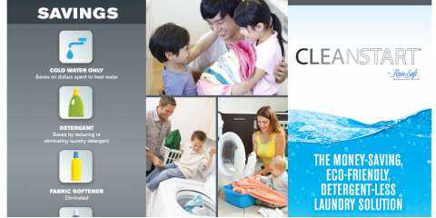 Anderson Water Systems Carries CleanStart, The Premier Laundry Filtration System, Henrietta, New York