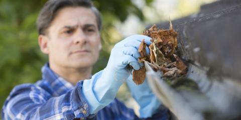 5 Problems Caused by Dirty Gutters, Sterling, Nebraska