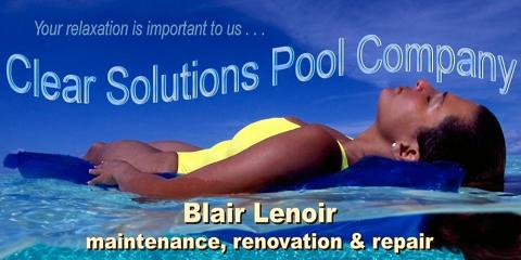 Austin Pool Service | Austin Pool Companies | Clear Solutions of Austin Texas, Austin, Texas