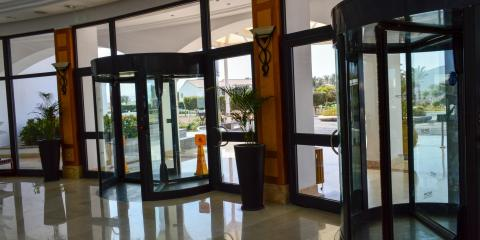5 Elements of Revolving Door Design, Grandview, Ohio
