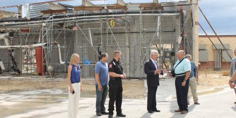 Congressman Williams Visits Coryell Memorial , Gatesville, Texas