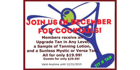 We're Getting Ready for the Holidays with Cocktails!, Creve Coeur, Missouri