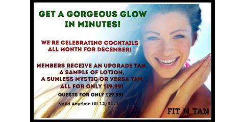 Cocktails for the Holidays! Get a Gorgeous Glow in Minutes., Creve Coeur, Missouri