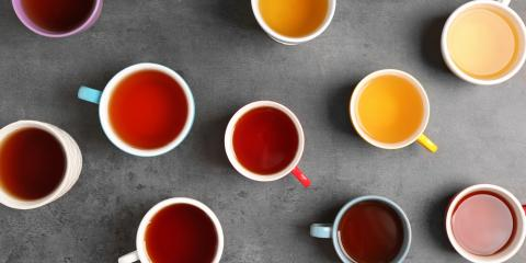 The 5 Major Varieties of Tea, Central Coast, California