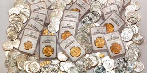4 Tips for Handling an Antique Gold & Silver Coin Collection, Greece, New York